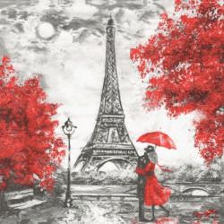 Láska v Paříži 33x33