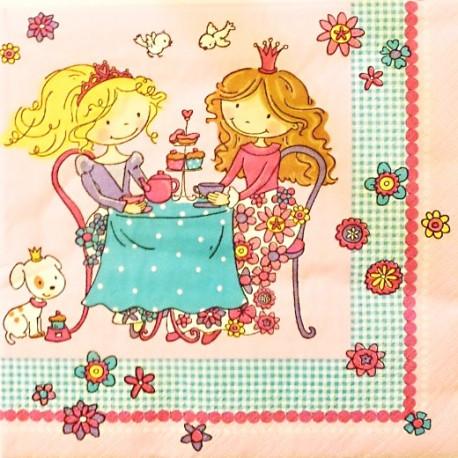 Děvčátka na čaji 33x33