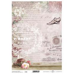 Scrap.papír A4 Střevíc a písmo