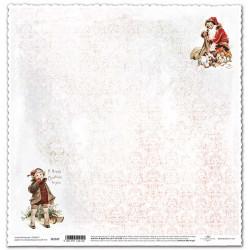 Vánoční s chlapcem - scrap.papír 315x32,5 200g