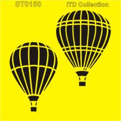 Šablona ITD - Horkovzdušné balóny 16x16