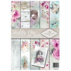 Sada papírů A4 - Shabby Chic for Spring (ITD)