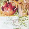 Čerstvá jablíčka 33x33
