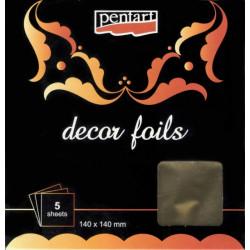 Decor Foils 3D Pentart - zlatá