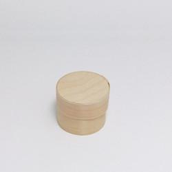 Nejmenší krabička z dýhy, kulatá