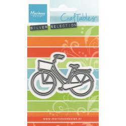 Vyřezávací šablona - jízdní kolo s košíkem (MD)