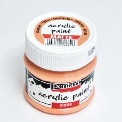 Akrylová barva Pentart 50ml - lososová, matná
