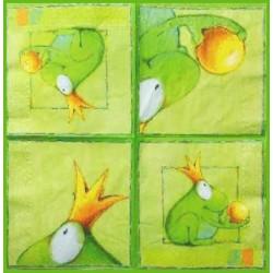Žába s korunkou 33x33