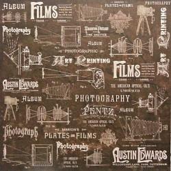 Film 30x30 scrapbook