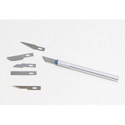 Řezací nůž s šesti různými břity (Pentart)