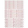 Šablona A4 - rozmazané tečky (Pronty)