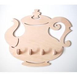 Čajník se čtyřmi kolíčky