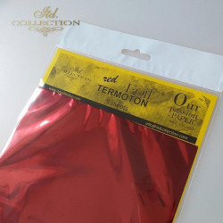 Fólie Termoton - červená