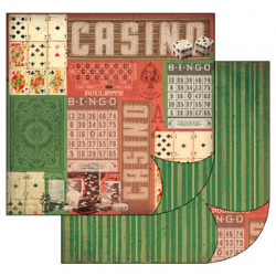 Casino 30x30 scrapbook