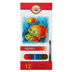 Pastelky akvarelové 12ks