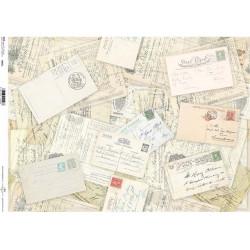 Papír rýžový A3 Post Card