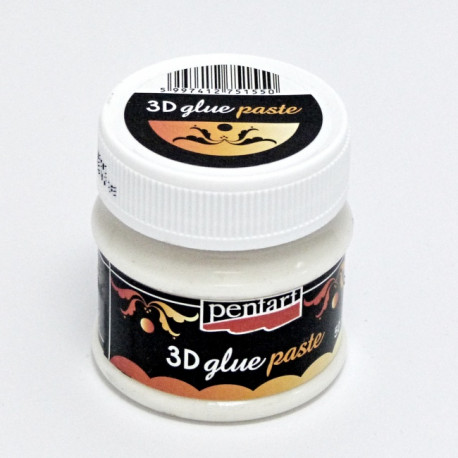 Lepidlo 3D glue paste 50ml (Pentart)