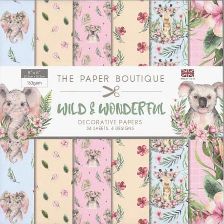 Sada papírů 20x20 Wild & Wonderful (CW)
