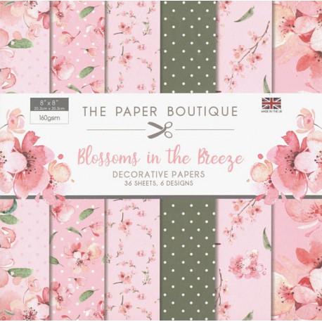 Sada papírů 20x20 Blossoms in the Breeze (CW)