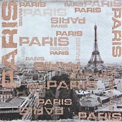 Paris, nápisy 33x33