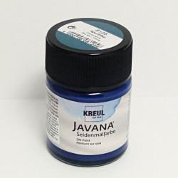 Barva na hedvábí JAVANA 50ml - azurová