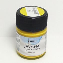 Barva na hedvábí JAVANA 50ml - žlutá