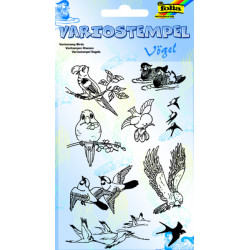 Transp.razítka F10 Ptáci (F)