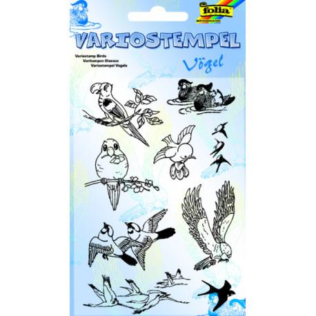 Transp.razítka F10 Ptáci