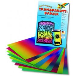 Duhový transparentní papír 100g, 10ks, 22x32cm (F)