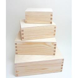 Dřevěné krabice 4v1 - obdélníkový tvar