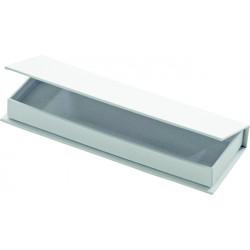 Krabička na tužky z kartonu bílá (F)