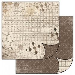 Chemické prvky 30x30 scrapbook