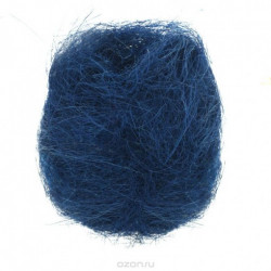 Sisalová vlna 50g, královská modrá (F)