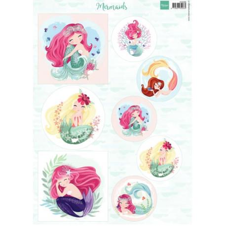 Papír A4 Mermaids (MD)