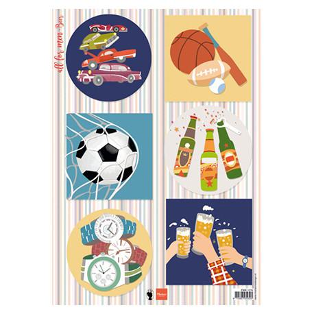 Papír A4 All for men - Beer (MD)