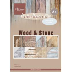 Sada papírů A4 Wood Stone (MD)