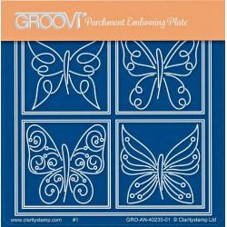 Akrylová deska - malí motýlci (GP)