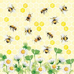 Veselé včely 33x33