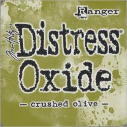 Distress Oxide polštářek - Crushed Olive