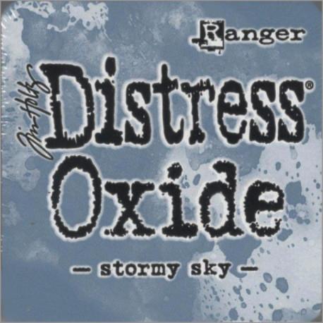 Distress Oxide polštářek - Stormy Sky