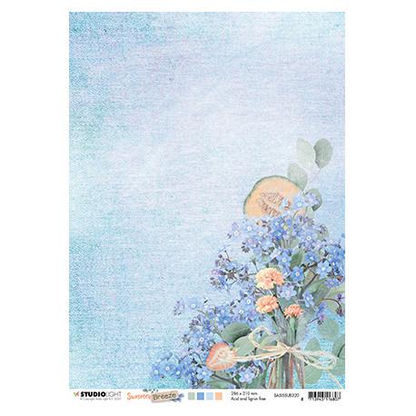 Scrap.papír oboustranný A4 Summer Breeze nr.320 (SL)