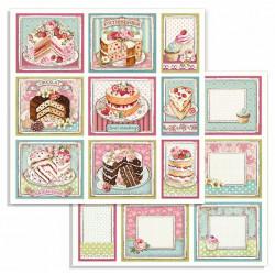 Sweety, 9 obrázků 30,5x30,5 scrapbook