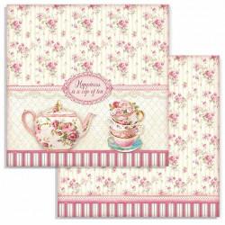 Sweety, romantické šálky 30,5x30,5 scrapbook