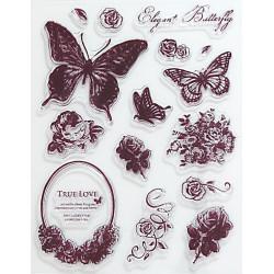 Transp.razítka - Elegant Butterfly