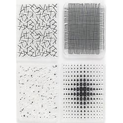 Transp.razítka - Čtyři textury