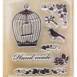 Transp.razítka - Klícka a Hand made