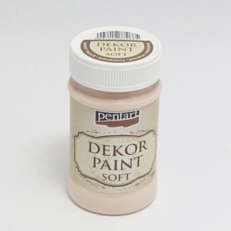 Dekor Paint Soft 100ml broskvová (Pentart)