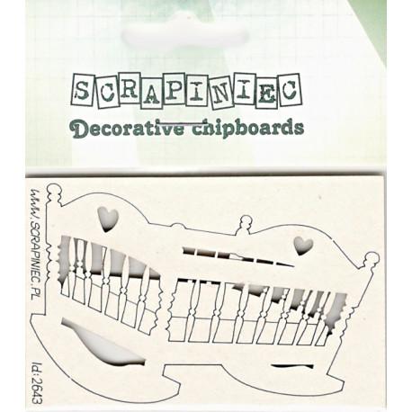 Kolébka - 1ks chipboards