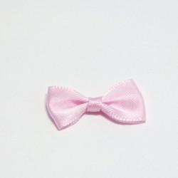 Malá saténová mašlička růžová