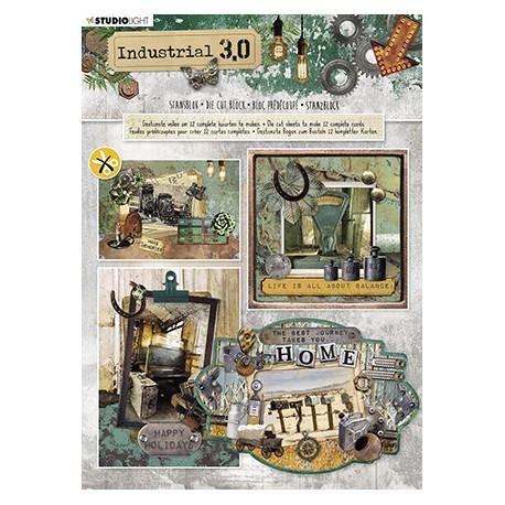 3D blok s výseky -Industrial 3.0, vel.A4 (SL)